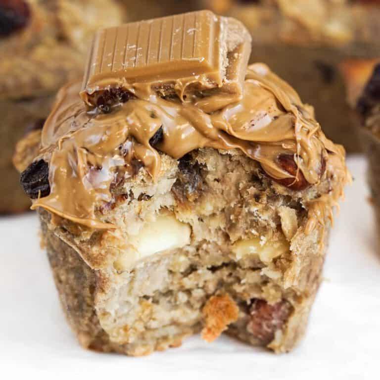 Easy & Healthy Banana Oat Breakfast Muffins