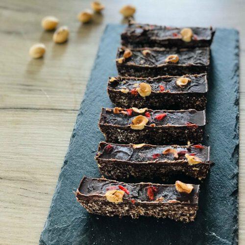 Raw Walnut Cacao Brownies