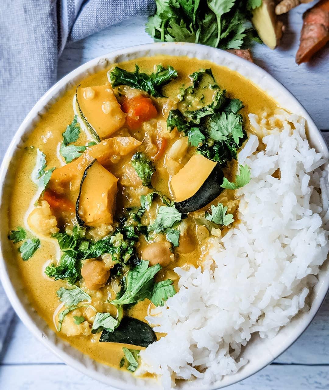 Creamy Coconut Pumpkin Curry