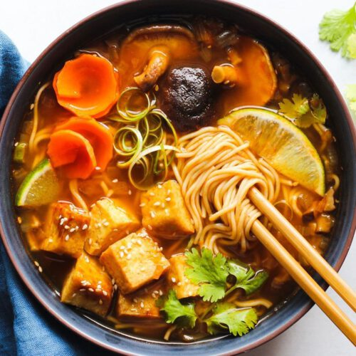30-Minute One-Pot Red Curry Ramen
