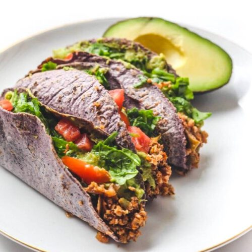 Vegan Cauliflower Walnut Tacos