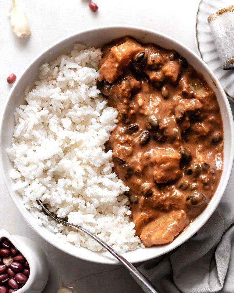 Black Bean Zucchini Curry