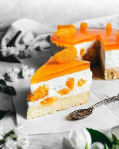 Vegan Mandarine Cake