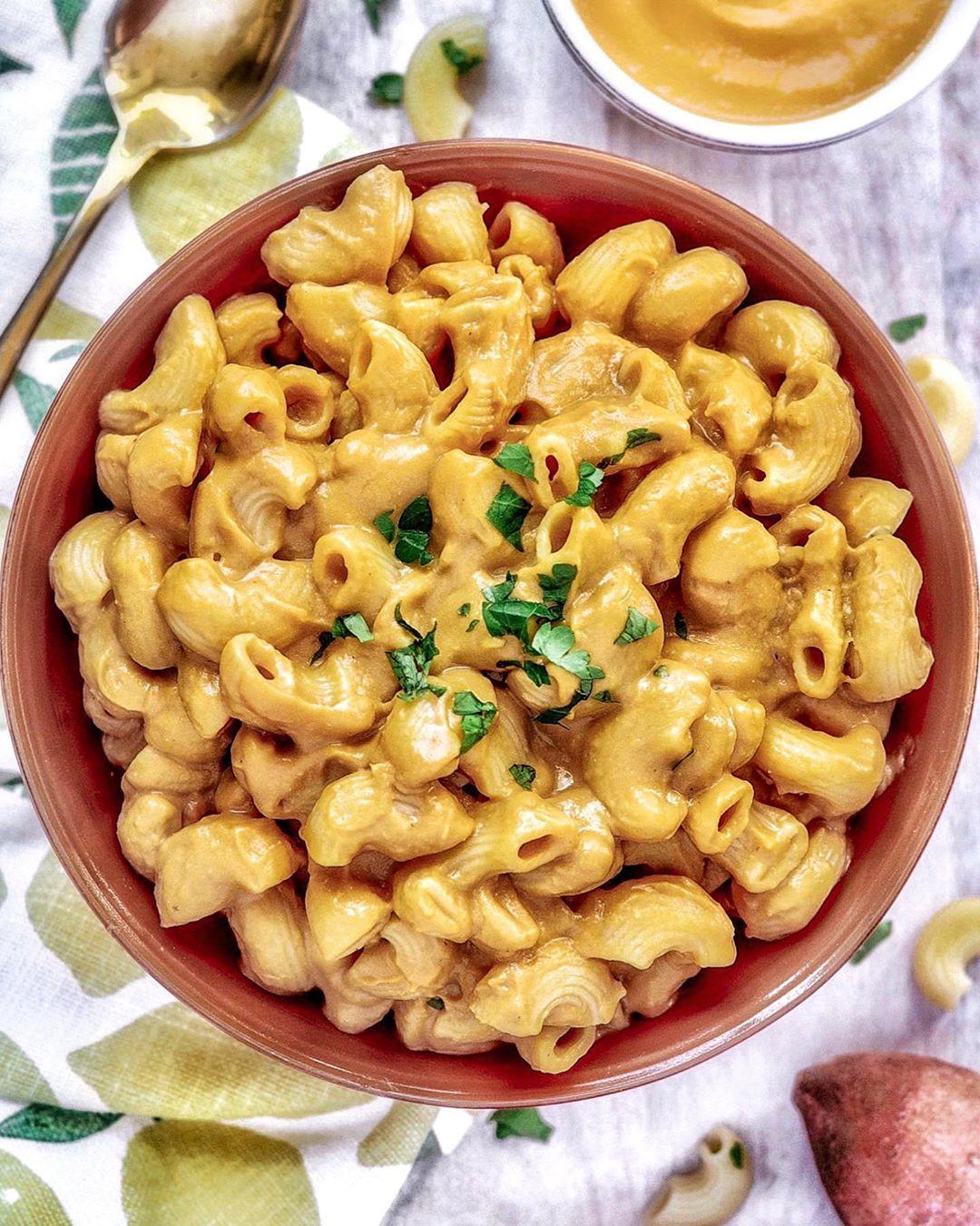 Sweet Potato Lemon Mac 'n Cheese