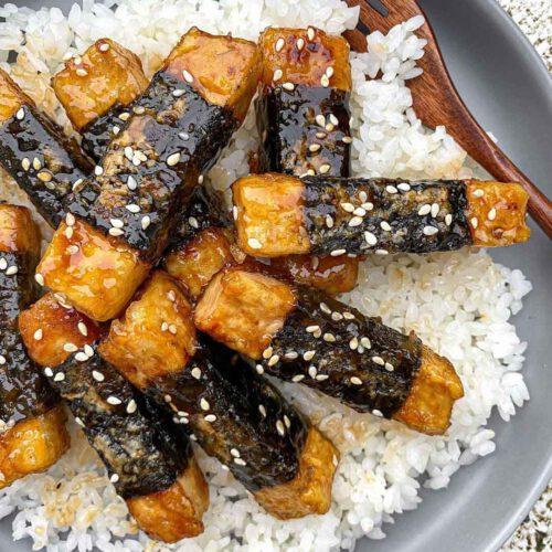 Nori Teriyaki Tofu Sticks
