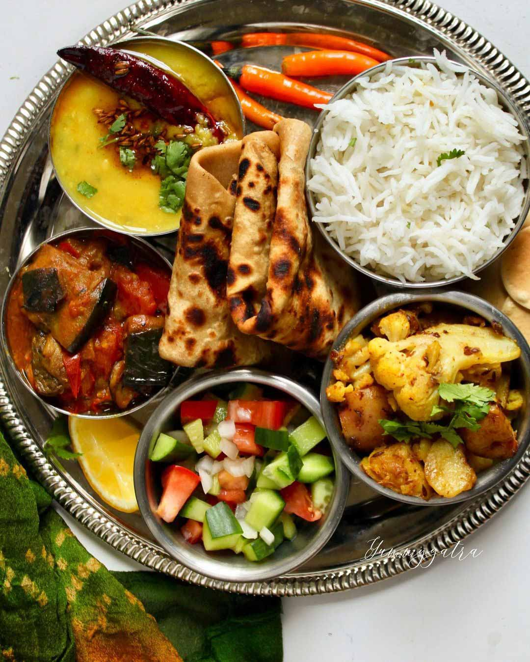 Plant-Powered Thali