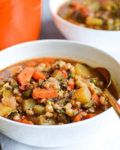Vegetable and Barley Stew
