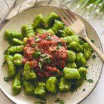 4 Ingredient Spinach Gnocchi