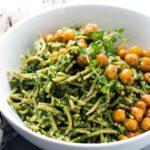 Easy Vegan Spinach Pesto