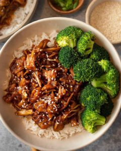Vegan General Tso's Jackfruit