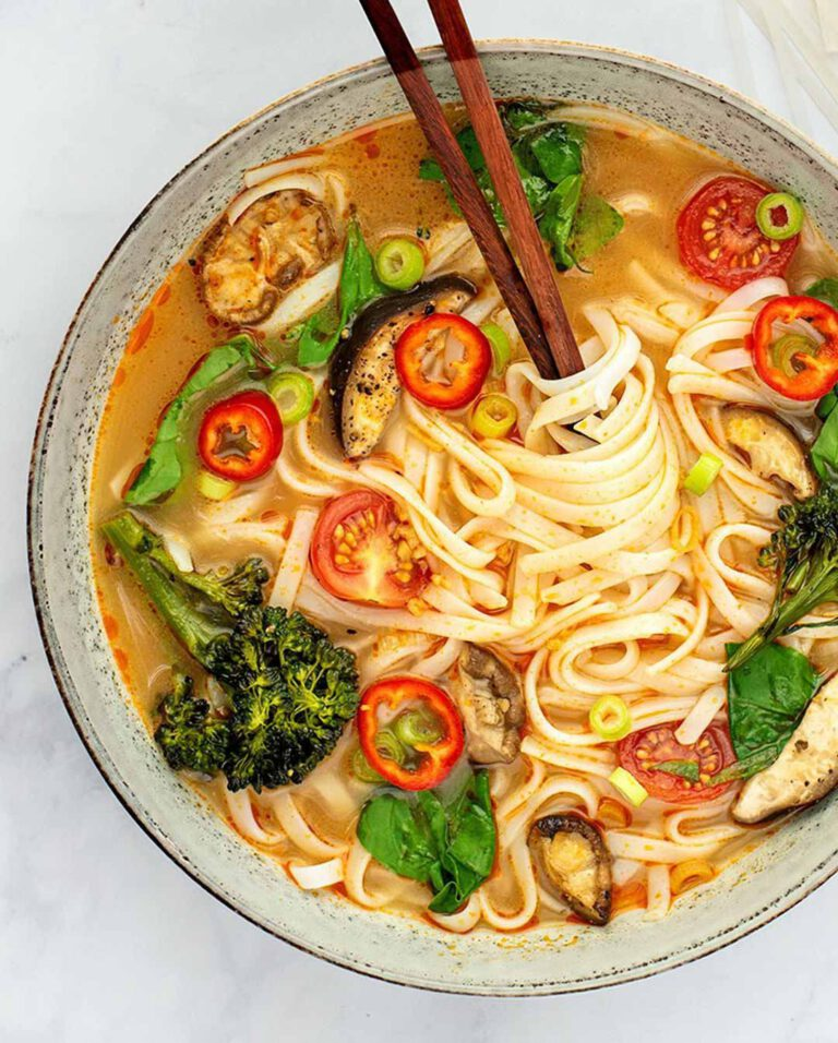 Thai Red Curry Lemongrass Soup