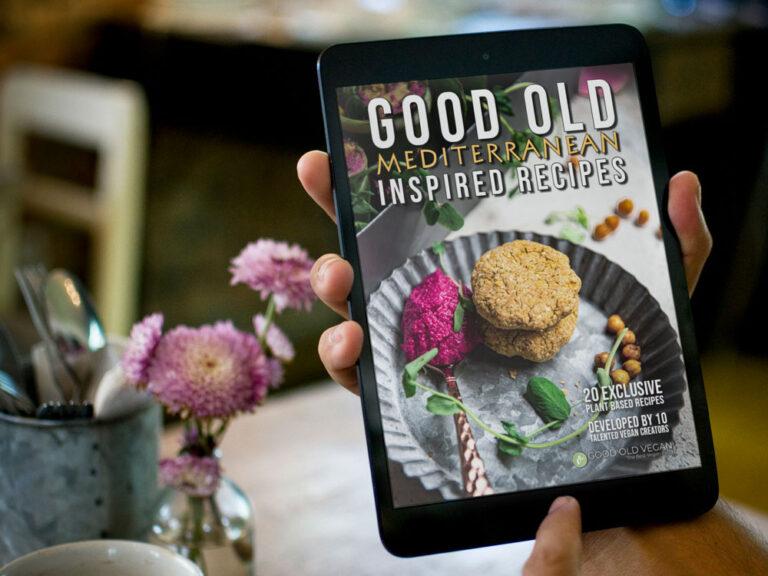 eBook cover on iPad