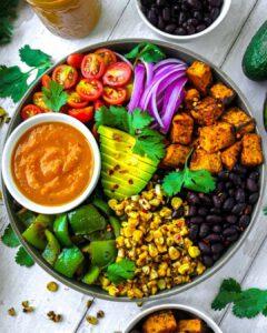 Golden Heirloom Tomato Salsa (Burrito Bowl)